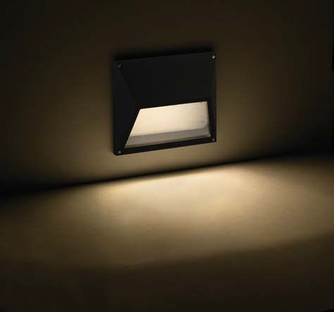 Recessed Wall Light Fixture Led Rectangular Outdoor Eco With Regard in Recessed Outdoor Wall Lighting (Image 4 of 10)