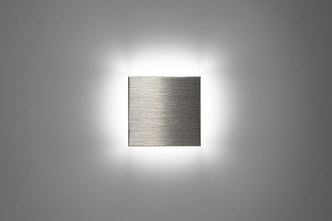 Recessed Wall Light Fixture / Led / Square / Outdoor - Square - Puraluce in Square Outdoor Wall Lights (Image 8 of 10)
