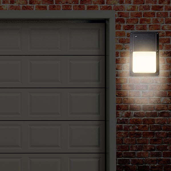 Rectangular Outdoor Led Wall Pack Light With Dusk To Dawn Sensor throughout Outdoor Wall Lighting With Dusk To Dawn (Image 9 of 10)