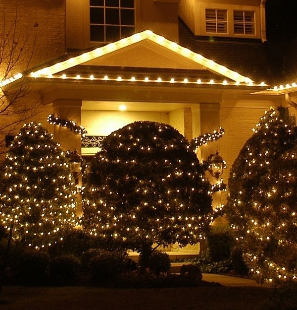 Residential Outdoor Christmas Light Display | This Holiday Outdoor regarding Outdoor Hanging Xmas Lights (Image 6 of 10)
