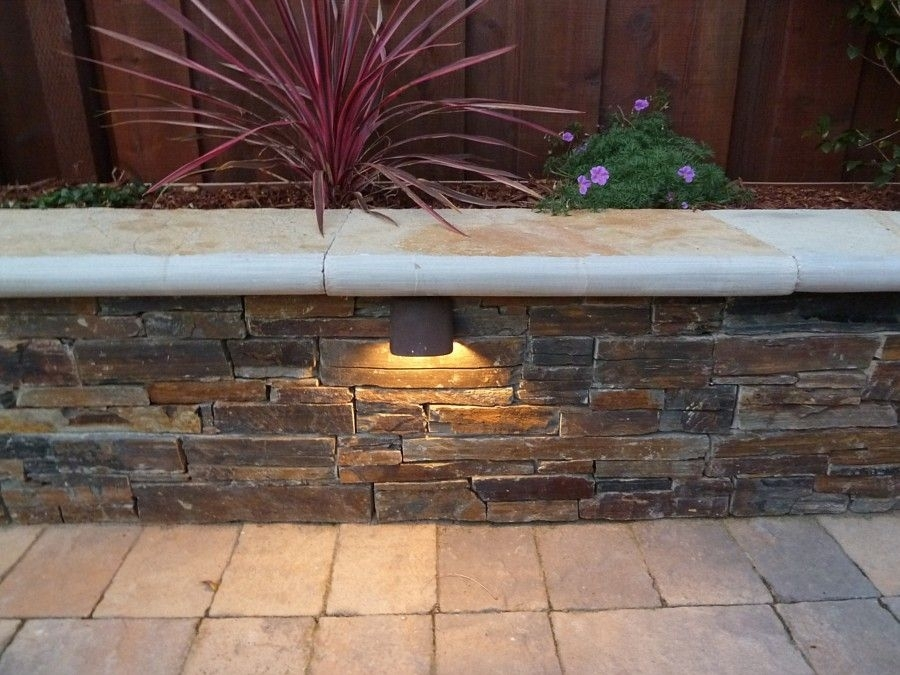 Retaining Wall Lights Low Voltage Contemporary Sofa Plans Free Is Throughout Low Voltage Outdoor Wall Lights (Image 10 of 10)