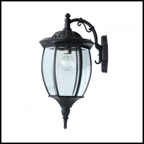 Reverse Victorian Outdoor Wall Fixture – 120v – Traditional Metal Intended For Victorian Outdoor Wall Lighting (View 9 of 10)