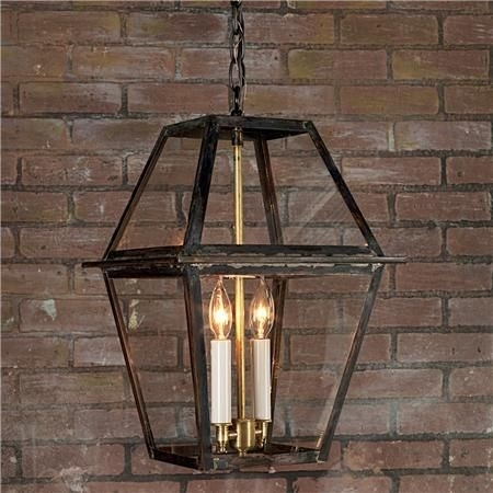 Richmond Outdoor Hanging Lantern | Outdoor Hanging Lanterns, Hanging throughout Metal Outdoor Hanging Lights (Image 9 of 10)