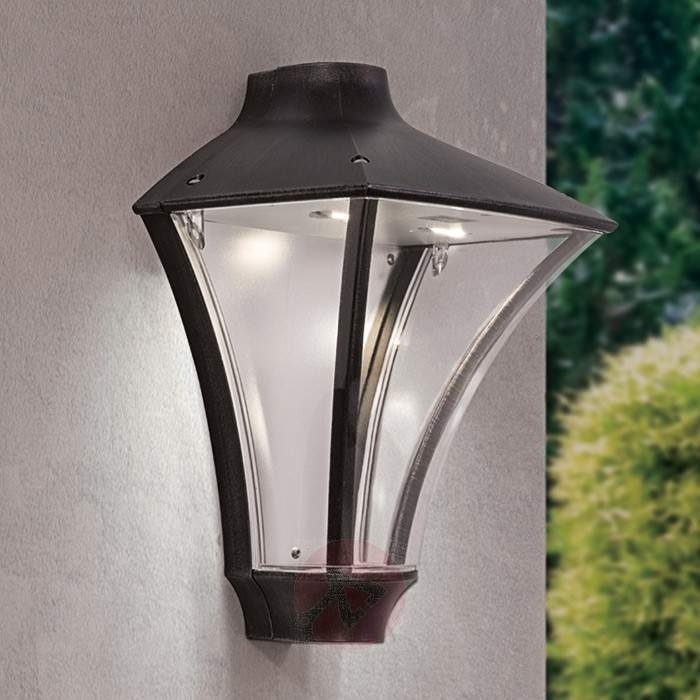 Rigon Led Outside Wall Light Bright Ip65 | Lights.co.uk with Outside Wall Lighting (Image 10 of 10)