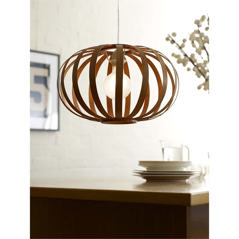 Rouge Living 40Cm 240V Shanghai Bulxplshangh Pendant Light I/n regarding Outdoor Hanging Lights At Bunnings (Image 8 of 10)