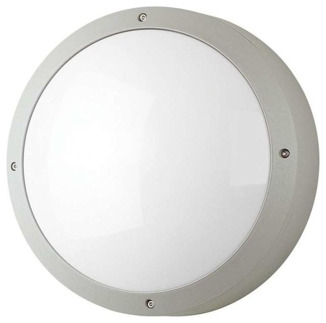 Round Outdoor Wall Light Designs Regarding Ideas Enhance The In Round Outdoor Wall Lights (View 6 of 10)