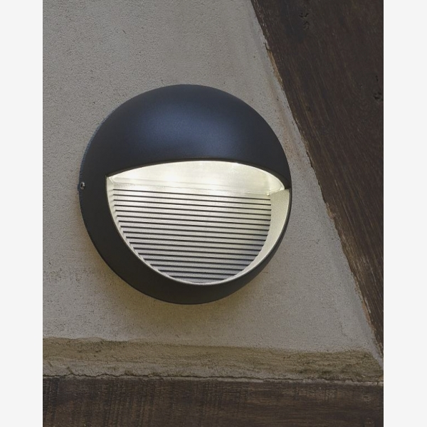 Round Outdoor Wall Light – Outdoor Designs With Round Outdoor Wall Lights (View 4 of 10)