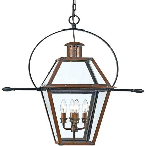 Rue De Royal Outdoor Hanging Pendant Quoizel Outdoor Pendants Regarding Outdoor Hanging Lantern Lights (View 10 of 10)