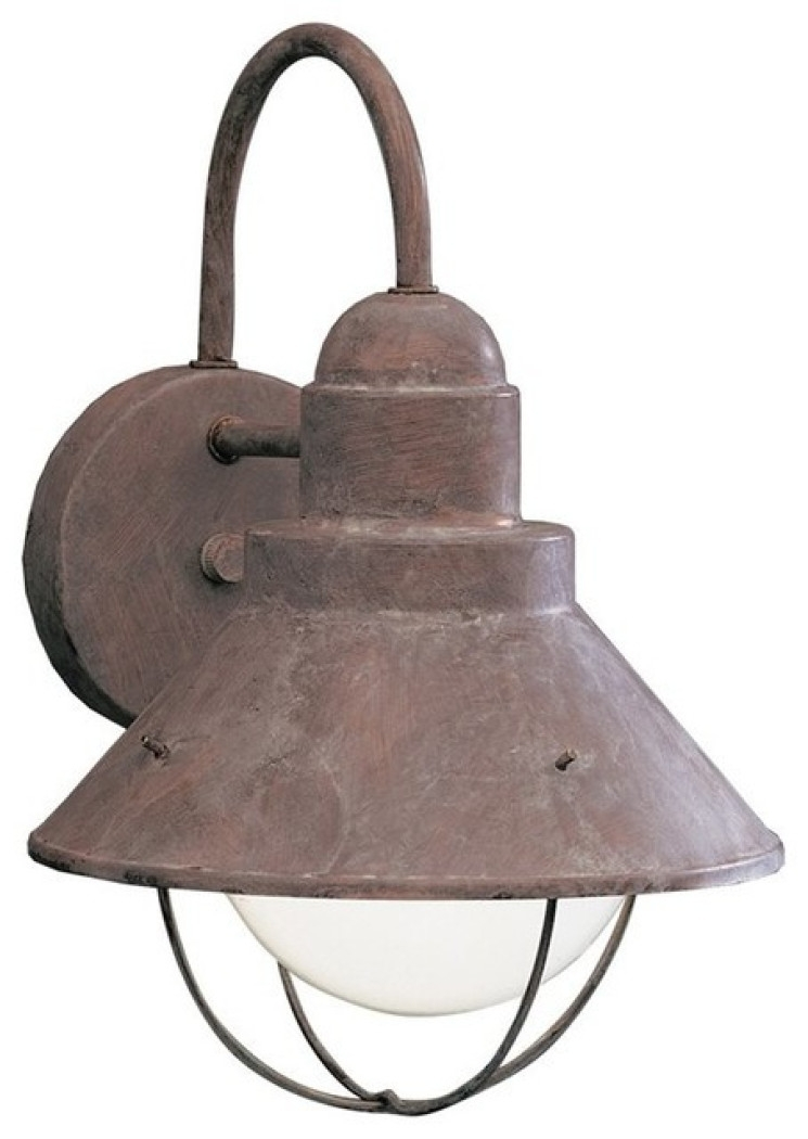 Rustic Outdoor Wall Sconce Rustic Outdoor Wall Lights And Sconces intended for Rustic Outdoor Wall Lighting (Image 8 of 10)