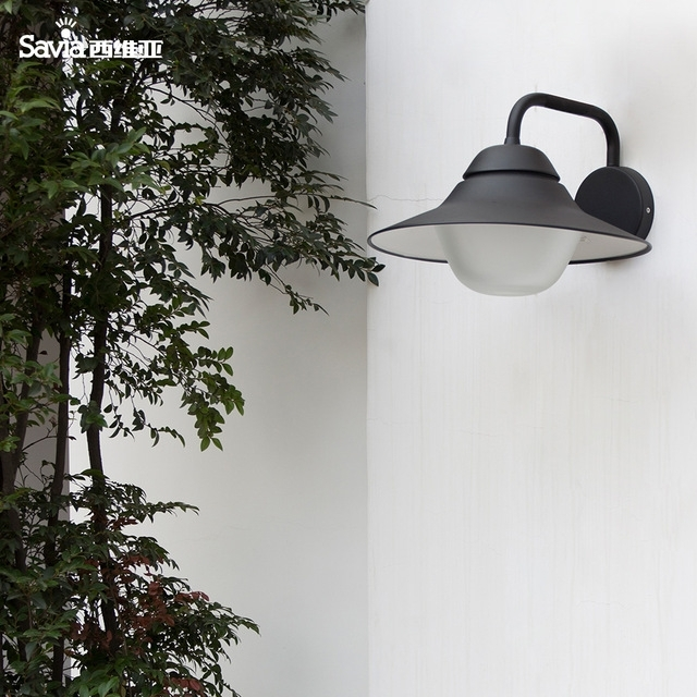 Savia Waterproof Outdoor Wall Lamp E27 Max 60W Aluminum Outdoor inside Aluminum Outdoor Wall Lighting (Image 6 of 10)