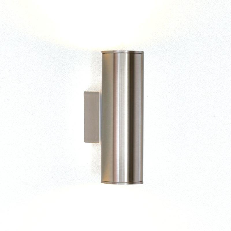 Sconces ~ Ceramic Outdoor Wall Sconces Stainless Minimalist Simple with regard to Quality Outdoor Wall Lighting (Image 6 of 10)