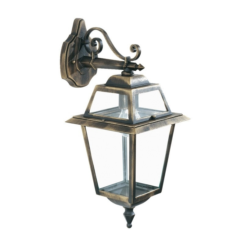 Searchlight New Orleans Outdoor Hanging Lantern Wall Light for Outdoor Hanging Wall Lanterns (Image 10 of 10)