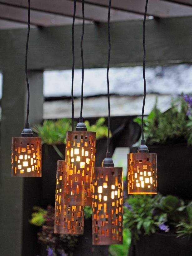 Set The Mood With Outdoor Lighting | Hgtv with Outdoor Hanging Bar Lights (Image 10 of 10)