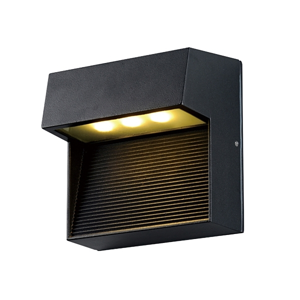 Single Lamp Wall Mounted Led Light, Single Lamp Wall Mounted Led Throughout Outdoor Wall Mounted Led Lighting (View 7 of 10)