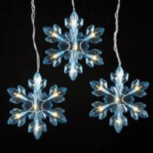 Snowflake Christmas Lights | Christmas Lights, Snowflake Lights And with Outdoor Hanging Snowflake Lights (Image 10 of 10)