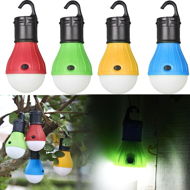 Soft Light Outdoor Hanging Led Camping Tent Light Bulb Night Fishing regarding Outdoor Hanging Plastic Lanterns (Image 9 of 10)