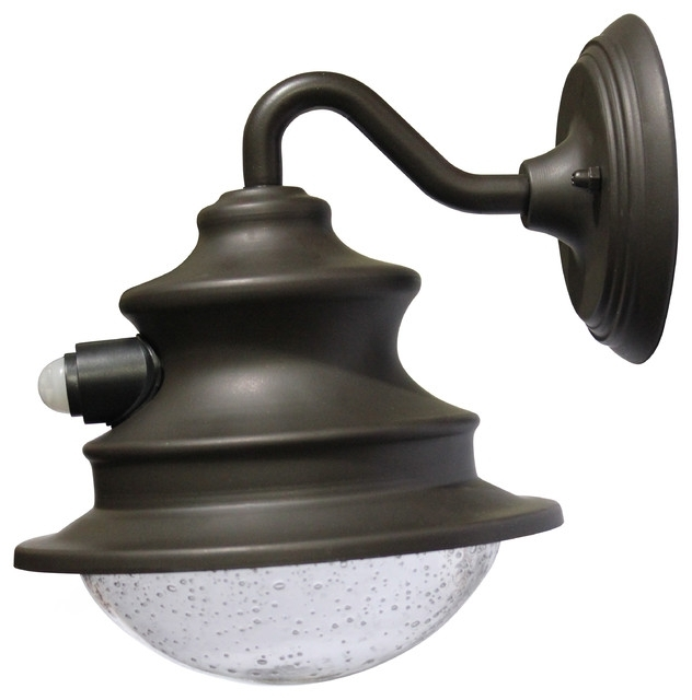 Solar Barn Light With Motion Sensor Beach Style Outdoor Wall pertaining to Beach Outdoor Wall Lighting (Image 8 of 10)