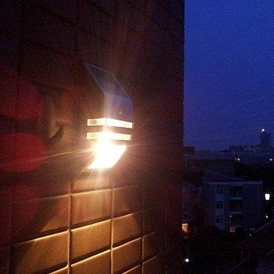 Solar Dual Led Pir Sensor Security Wall Light in Pir Solar Outdoor Wall Lights (Image 7 of 10)