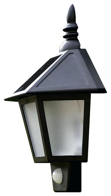 Solar Exterior Wall Light Fixtures And Solar Powered Led Wall Light for Solar Powered Outdoor Wall Lights (Image 7 of 10)