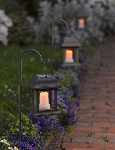 Solar Hanging Lantern Garden Lights Garden Outdoor Hanging Lanterns for Outdoor Hanging Garden Lanterns (Image 8 of 10)
