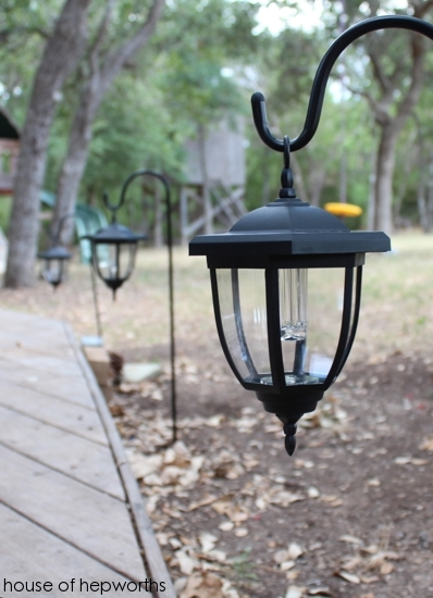 Solar Hanging Lantern Garden Lights Solar Powered Hanging Jack O within Outdoor Hanging Solar Lanterns (Image 7 of 10)