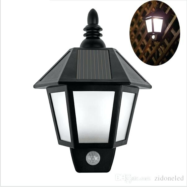 Solar Outdoor Wall Lighting Ing Zidone Solar Outdoor Wall Lights for South Africa Outdoor Wall Lighting (Image 9 of 10)