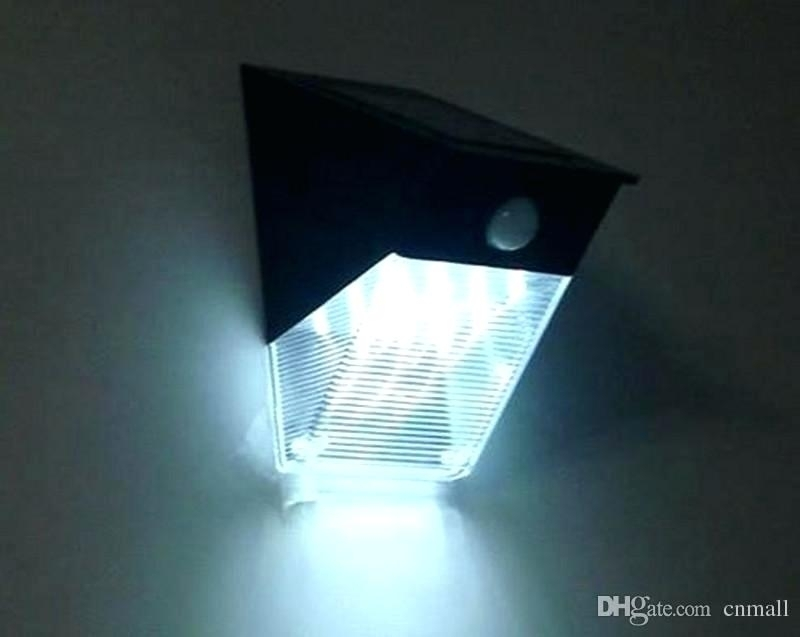 Solar Outdoor Wall Lights Pir – Therav intended for Pir Solar Outdoor Wall Lights (Image 9 of 10)