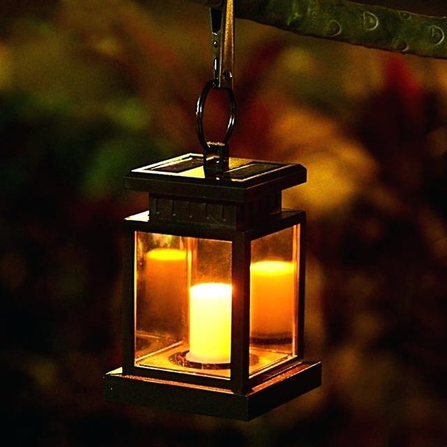 Solar Powered Garden Lantern – Jobi (Image 4 of 10)