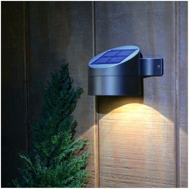 Solar Powered Outdoor Lighting Solar Powered Outdoor Wall Lights in Solar Powered Outdoor Wall Lights (Image 8 of 10)