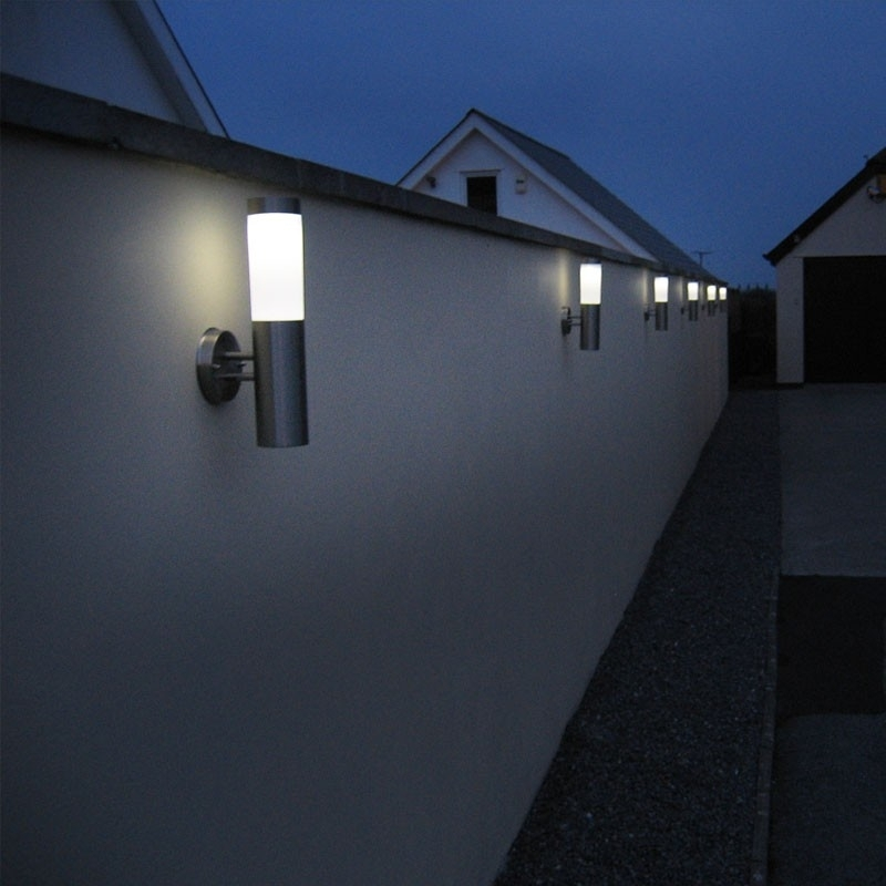 Featured Photo of Outdoor Solar Wall Lights