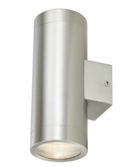 Stainless Steel Double Outdoor Wall Light Ip65 Up/down Outdoor Wall pertaining to Outdoor Wall Lighting at Ebay (Image 7 of 10)