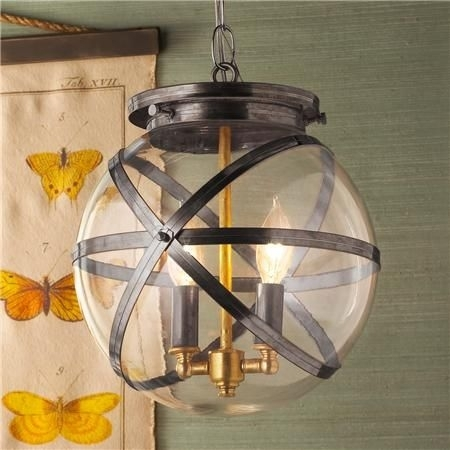 Steam Punk Indoor And Outdoor Hanging Lantern | Outdoor Hanging intended for Outdoor Hanging Porch Lights (Image 9 of 10)