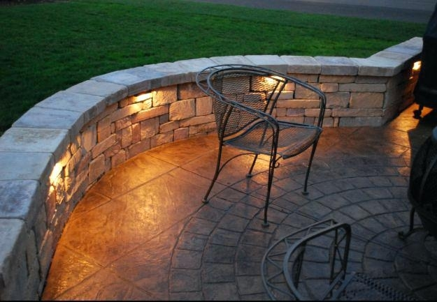 Stone Wall Lighting View In Gallery Outdoor Stone Wall Lighting pertaining to Outdoor Stone Wall Lighting (Image 9 of 10)