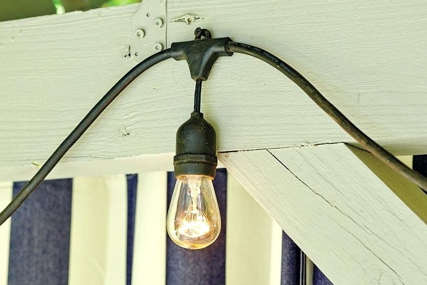 String Lights Hooks How To Hang Outdoor – Ewakurek intended for Outdoor Hooks for Hanging Lights (Image 8 of 10)