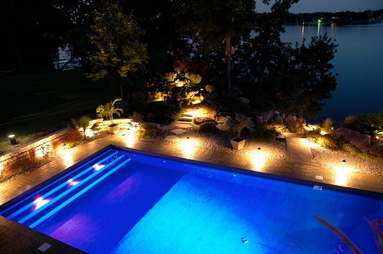Swimming Pool Lighting Ideas Kitchentoday With Regard To Outdoor 7 pertaining to Outdoor Hanging Pool Lights (Image 10 of 10)