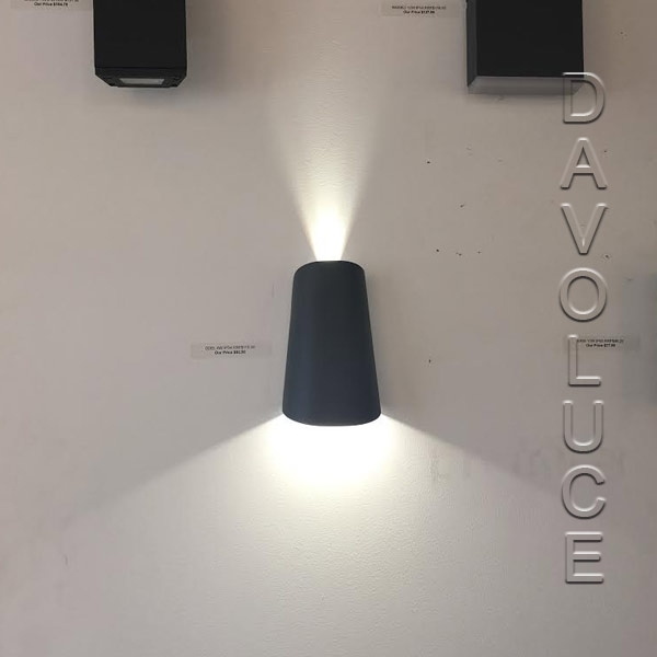 Telbix Odel 12W Exterior Led Wall Light From Davoluce Lighting inside Australia Outdoor Wall Lighting (Image 10 of 10)
