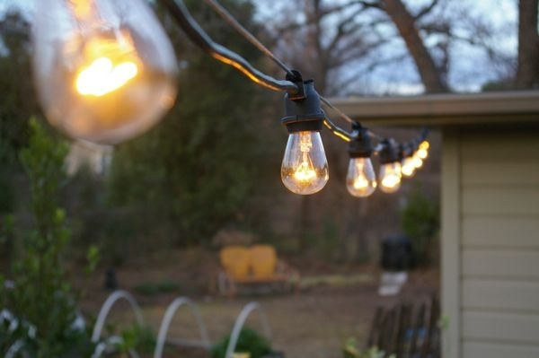 The Grackle: Garden: New String Lights Intended For Commercial Grade Outdoor Hanging Lights (View 10 of 10)