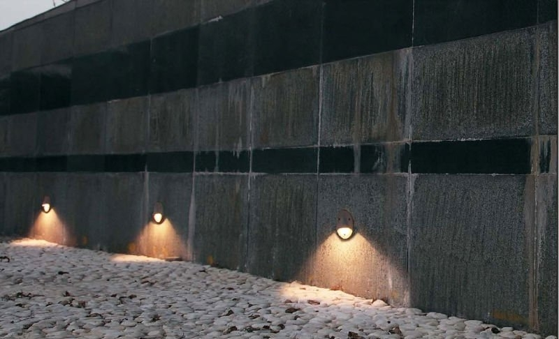 The Most Exterior Recessed Wall Lights For Ideas Best Light Fixture intended for Recessed Outdoor Wall Lighting (Image 6 of 10)