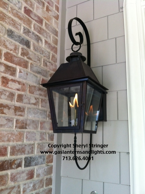 The Use Of Outdoor Gas Lights Warisan Lighting Inside Lamp Designs Inside Outdoor Hanging Gas Lanterns (View 10 of 10)