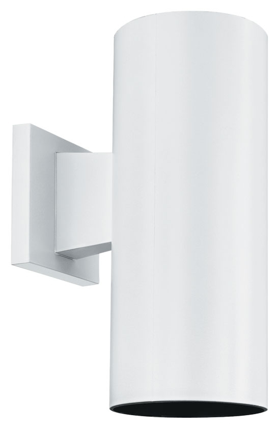 """Thomas Lighting Sl92708 Plastic Outdoor Matte White Finish 12"""" Tall in Plastic Outdoor Wall Light Fixtures (Image 9 of 10)"""