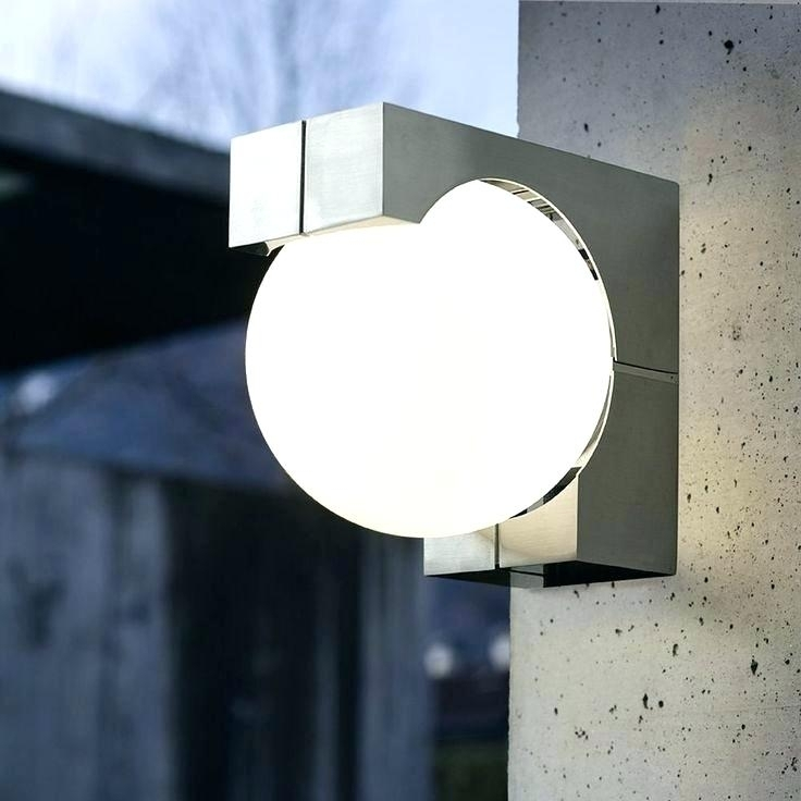 Timer Outdoor Wall Mounted Lighting The In Home Depot Sconces In pertaining to Led Outdoor Wall Lighting At Home Depot (Image 9 of 10)