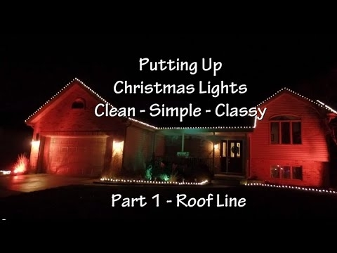 Tips For Hanging Outdoor Christmas Lights How To Hang Christmas inside Hanging Outdoor Christmas Lights In Roof (Image 9 of 10)