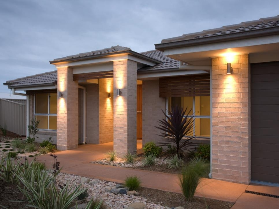 Tips For Perfect Exterior Lighting - Blogbeen in Outdoor Wall Mounted Accent Lighting (Image 7 of 10)