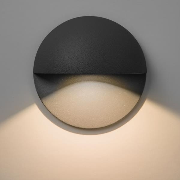 Tivoli Ip65 Outdoor Led Recessed Wall Light In Black - Astro 7264 with regard to Ip65 Outdoor Wall Lights (Image 9 of 10)