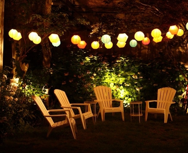 Top 10 Paper Lantern Lights Outdoor For 2018 Warisan Lighting With in Outdoor Hanging Nylon Lanterns (Image 10 of 10)