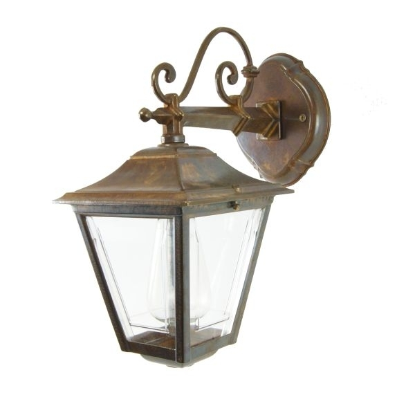 Traditional Cast Brass Outdoor Wall Light | Pub Wall Lightirish With Brass Outdoor Wall Lighting (View 9 of 10)