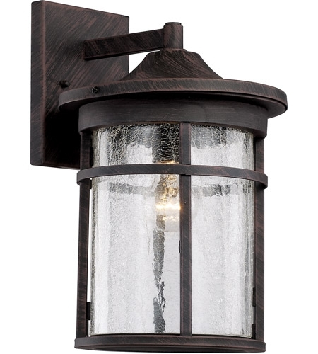 Trans Globe Lighting 40382-Rt Avalon 1 Light 18 Inch Rust Outdoor in Outdoor Wall Lantern By Transglobe Lighting (Image 4 of 10)