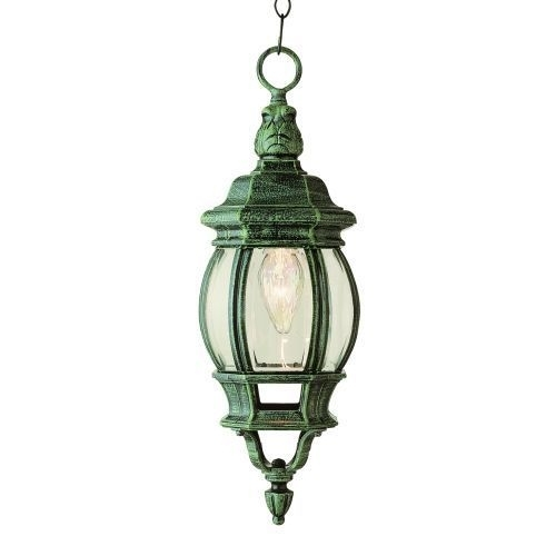 Trans Globe Lighting 4065 Vg Outdoor Hanging Light In Verde Green | Ebay inside Outdoor Hanging Lights at Ebay (Image 9 of 10)