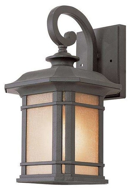 Trans Globe Lighting - Trans Globe Lighting 5820 Bk Outdoor Wall within Outdoor Wall Lantern By Transglobe Lighting (Image 2 of 10)