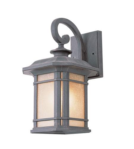 Trans Globe Signature 1 Light Outdoor Wall Lantern In Rust 5821-Rt pertaining to Outdoor Wall Lantern By Transglobe Lighting (Image 7 of 10)